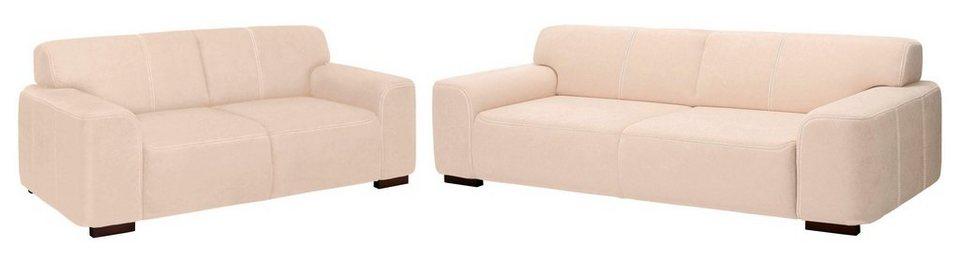 home affaire garnitur 2 tlg 2 sitzer und 3 sitzer laredo online kaufen otto. Black Bedroom Furniture Sets. Home Design Ideas