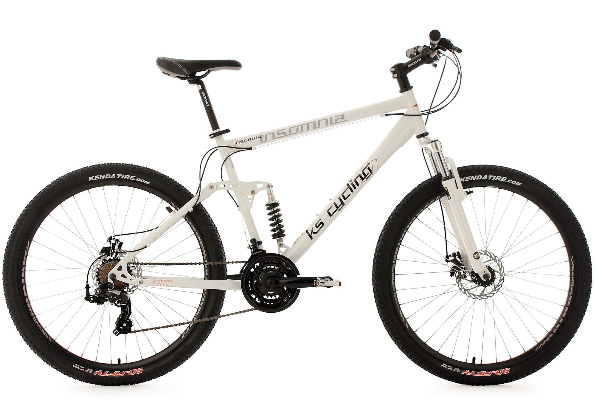 KS Cycling Mountainbike »Insomnia«, 21 Gang Shimano Tourney Schaltwerk, Kettenschaltung