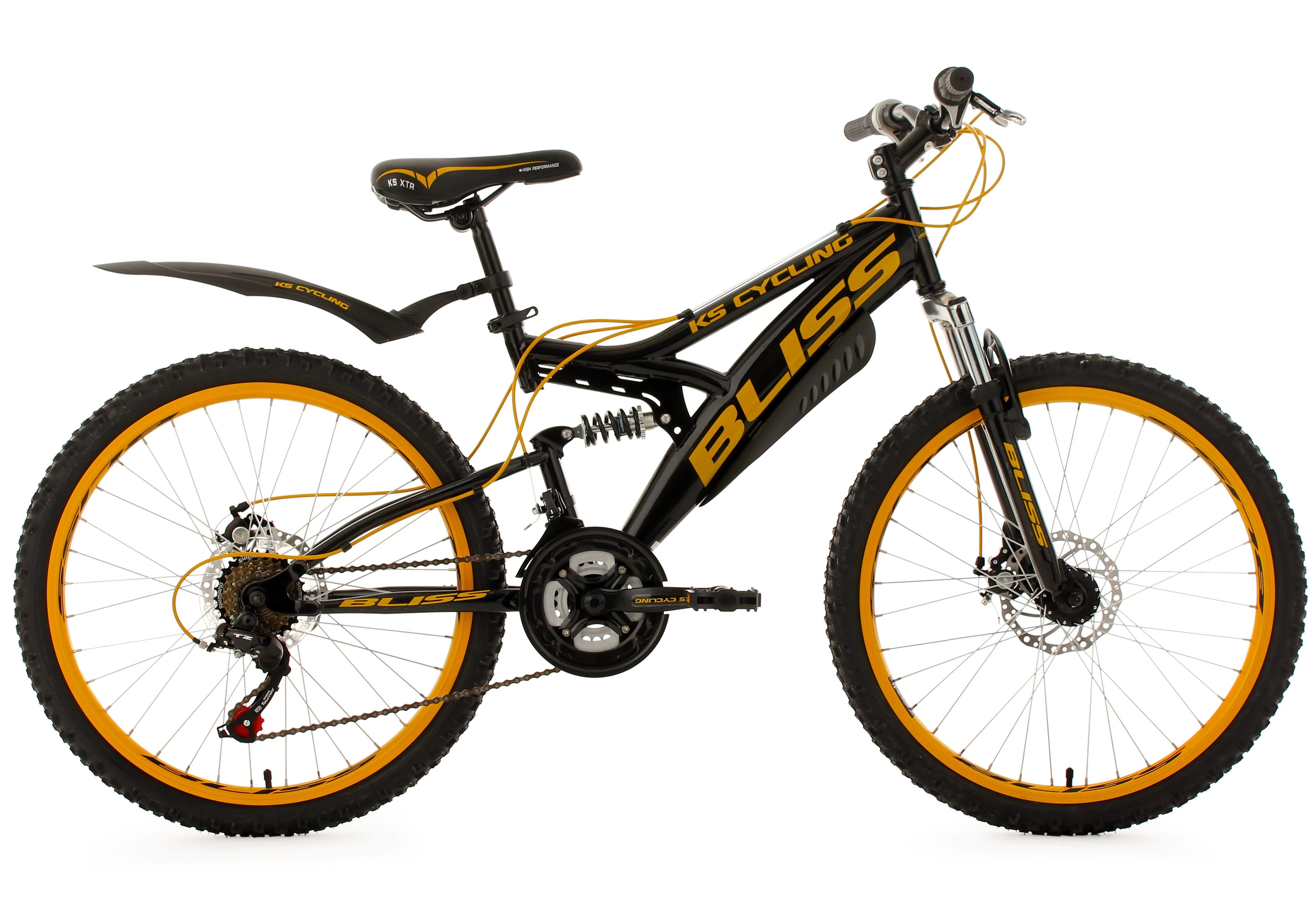 KS Cycling Jugendfahrrad »Bliss«, 18 Gang Shimano Tourney Schaltwerk, Kettenschaltung
