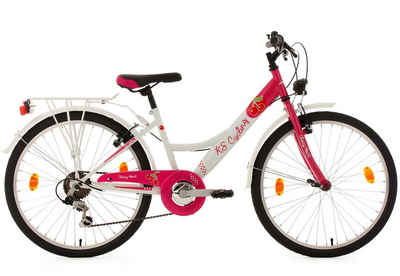 KS Cycling Jugendfahrrad »Cherry Heart«, 6 Gang Shimano Tourney Schaltwerk, Kettenschaltung