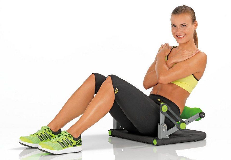 VITALmaxx Body-Fitnesstrainer Basic 5in1 in schwarz-grün