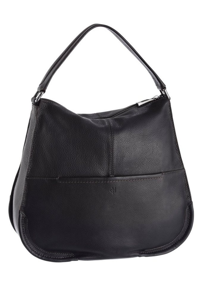 Marc o`Polo Hobo aus Leder in black