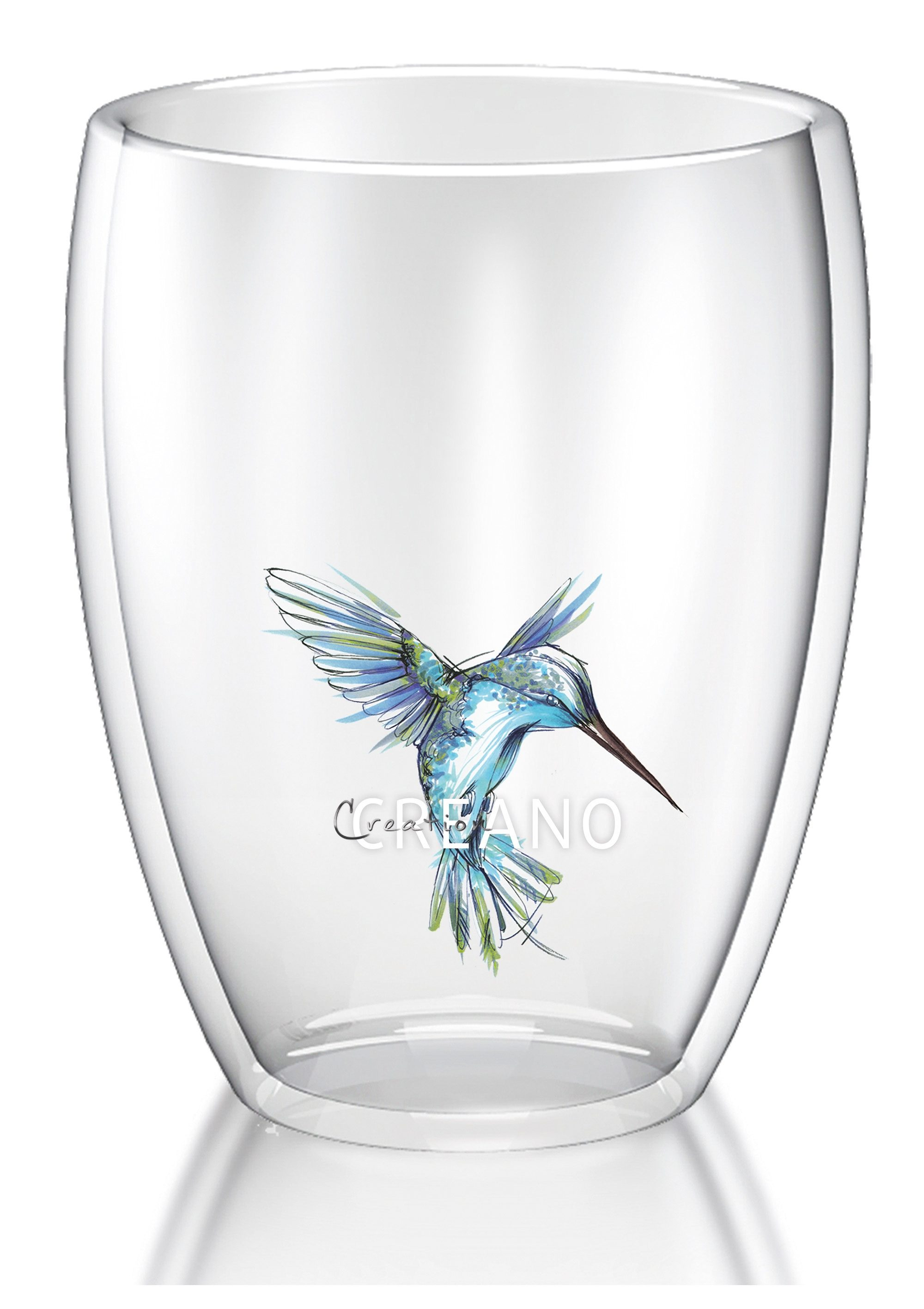 Creano Thermo-Glas, 250 ml, »Kolibri«