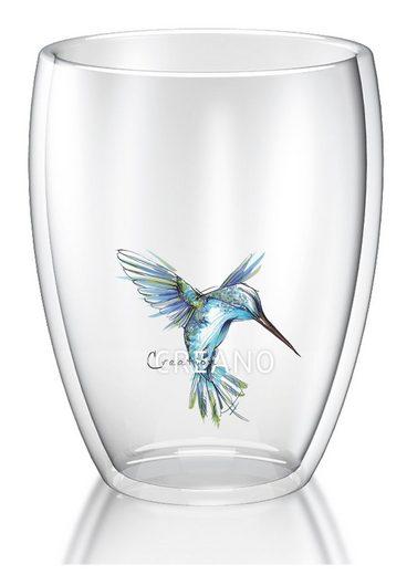 Creano Thermoglas »Kolibri« (1-tlg), Hitzebeständiges Borosilikatglas