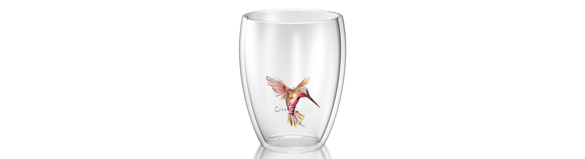 Creano Thermo-Glas, 250 ml, »Kolibri«