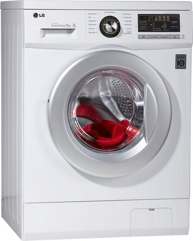 lg waschmaschine f1496tda1h a 8 kg 1400 u min online. Black Bedroom Furniture Sets. Home Design Ideas