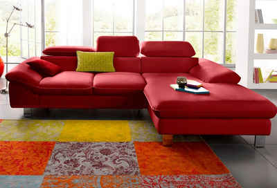 rotes sofa kaufen m belideen. Black Bedroom Furniture Sets. Home Design Ideas