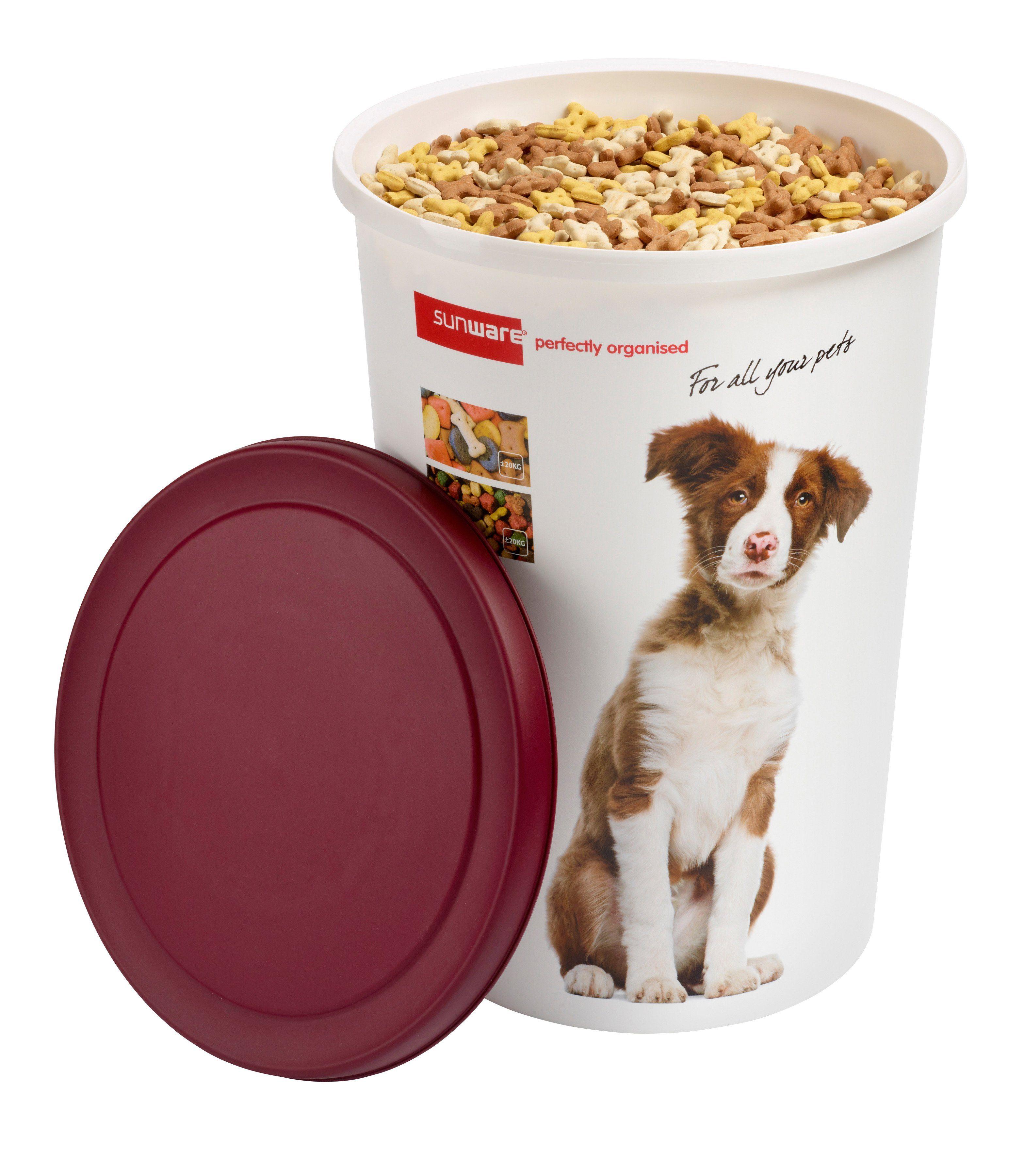 45 Liter Aufbewahrungsbox für Tierfutter inklusive Deckel