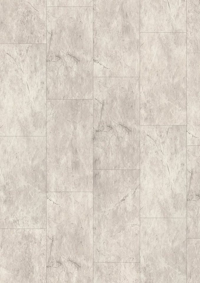 Laminat »Megafloor M2 Kingsize«, Magma weiß Nachbildung in weiß