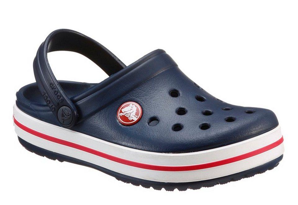Crocs Clog mit Fersenriemen in navy-rot