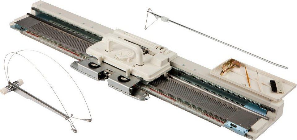 Silver Reed Strickmaschine SK-280 in weiß / grau