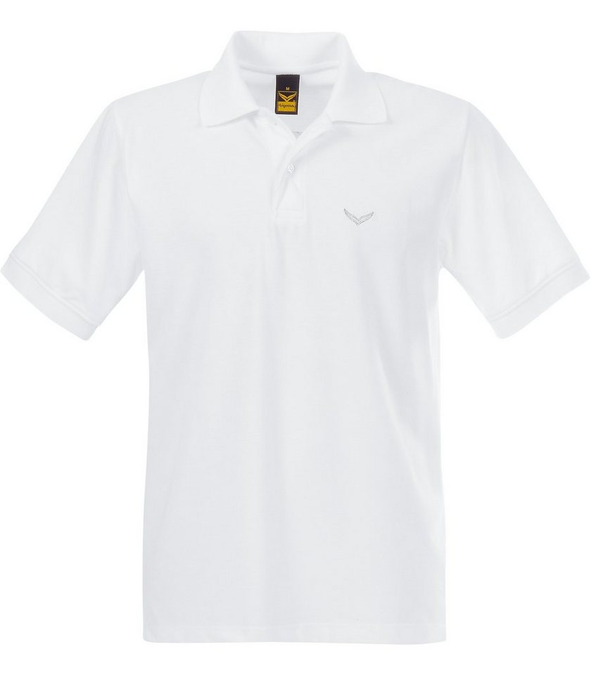 TRIGEMA Polo-Shirt DELUXE Piqué in weiss