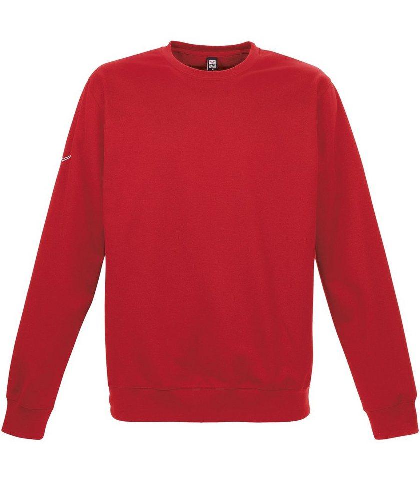 TRIGEMA Sweat-Shirt in kirsch