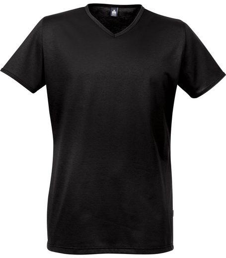 TRIGEMA V-Shirt aus 100% Tencel
