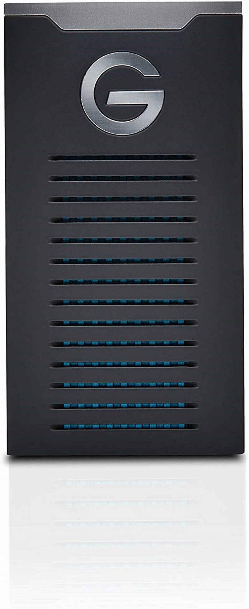 G-Technology »robuste, zuverlässige Speicherlösung« externe SSD (500 GB), G-DRIVE mobile R-Series SSD)
