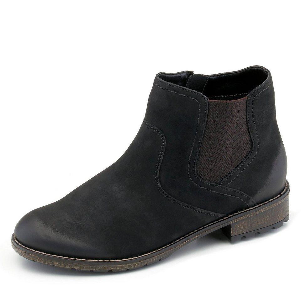 Remonte Stiefelette in schwarz