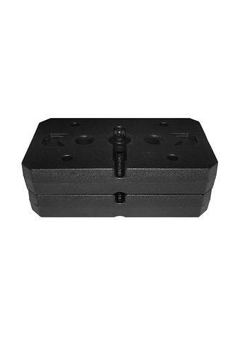 Gewichteplatten-Set für »SP 20 XL«, Christopeit Sport® in schwarz