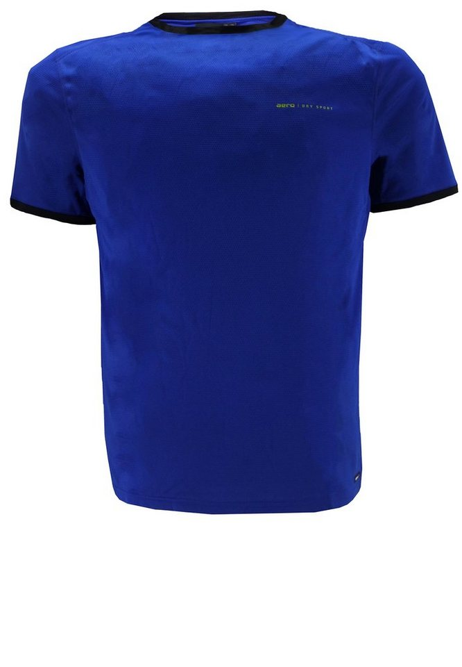aero T-Shirt SPORT Tech in Blau