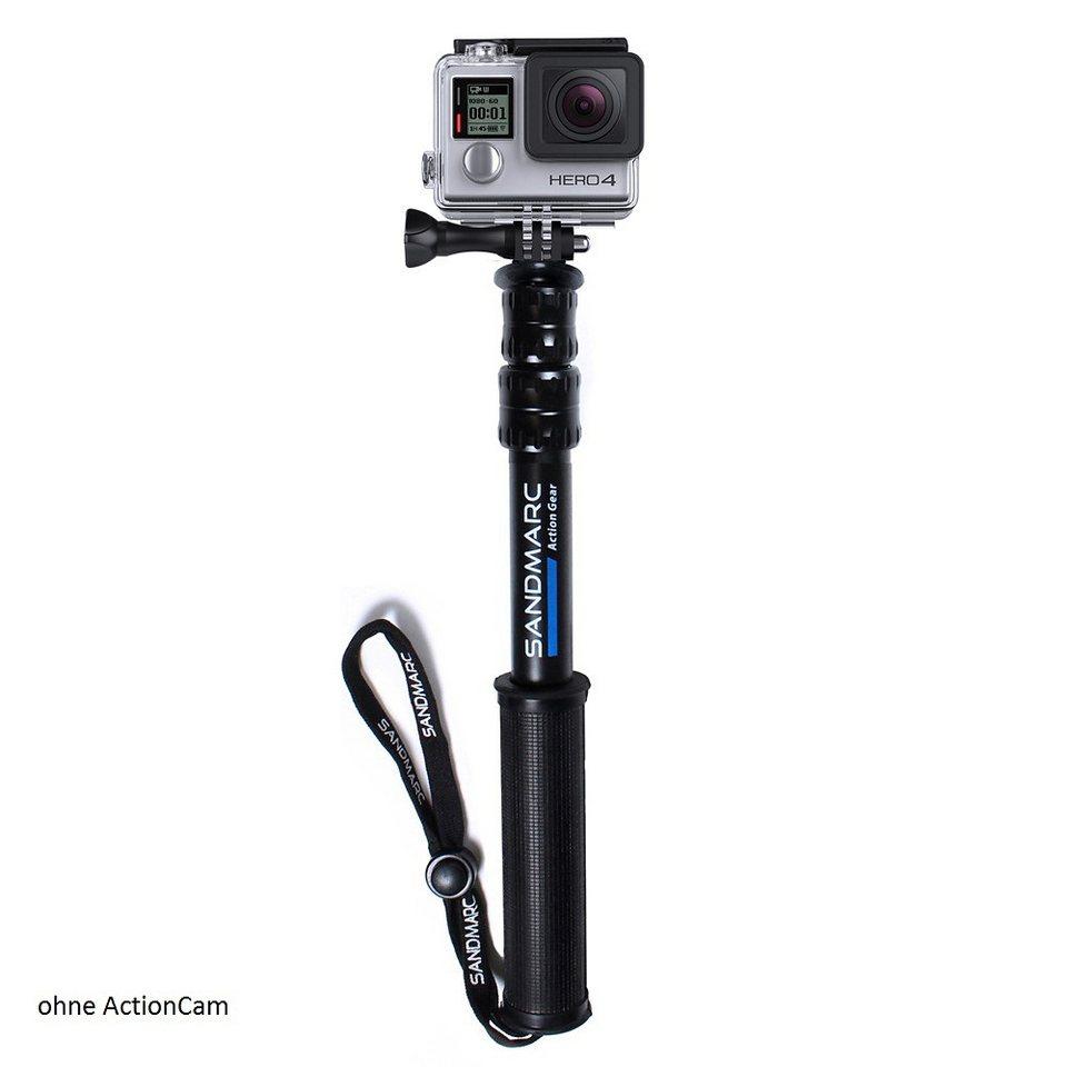 Sandmarc Verlängerung für GoPro Hero4 »Pole« in schwarz