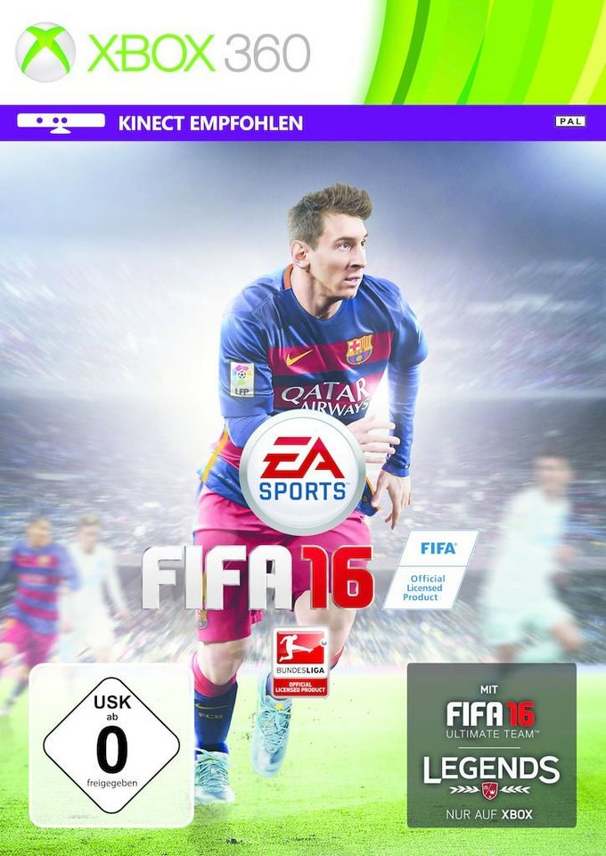 electronic arts xbox 360 spiel fifa 16 kaufen otto. Black Bedroom Furniture Sets. Home Design Ideas