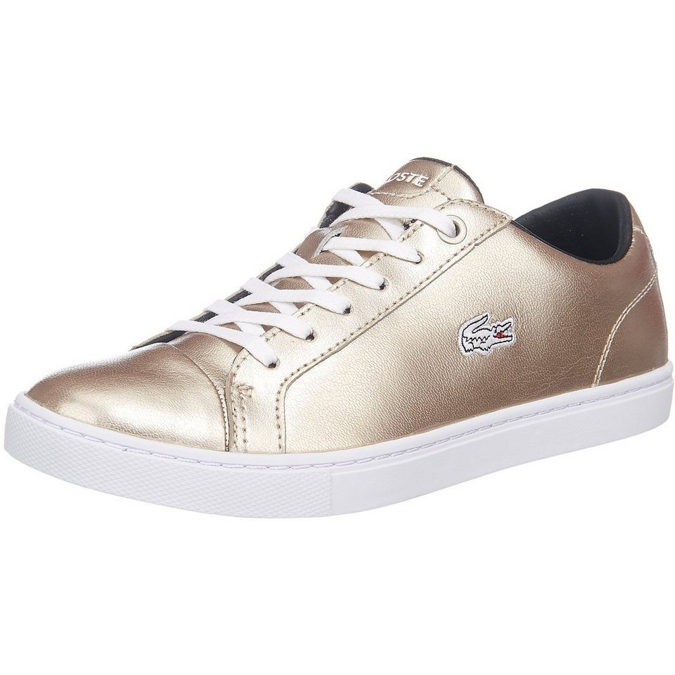 LACOSTE Showcourt Sneakers in gold