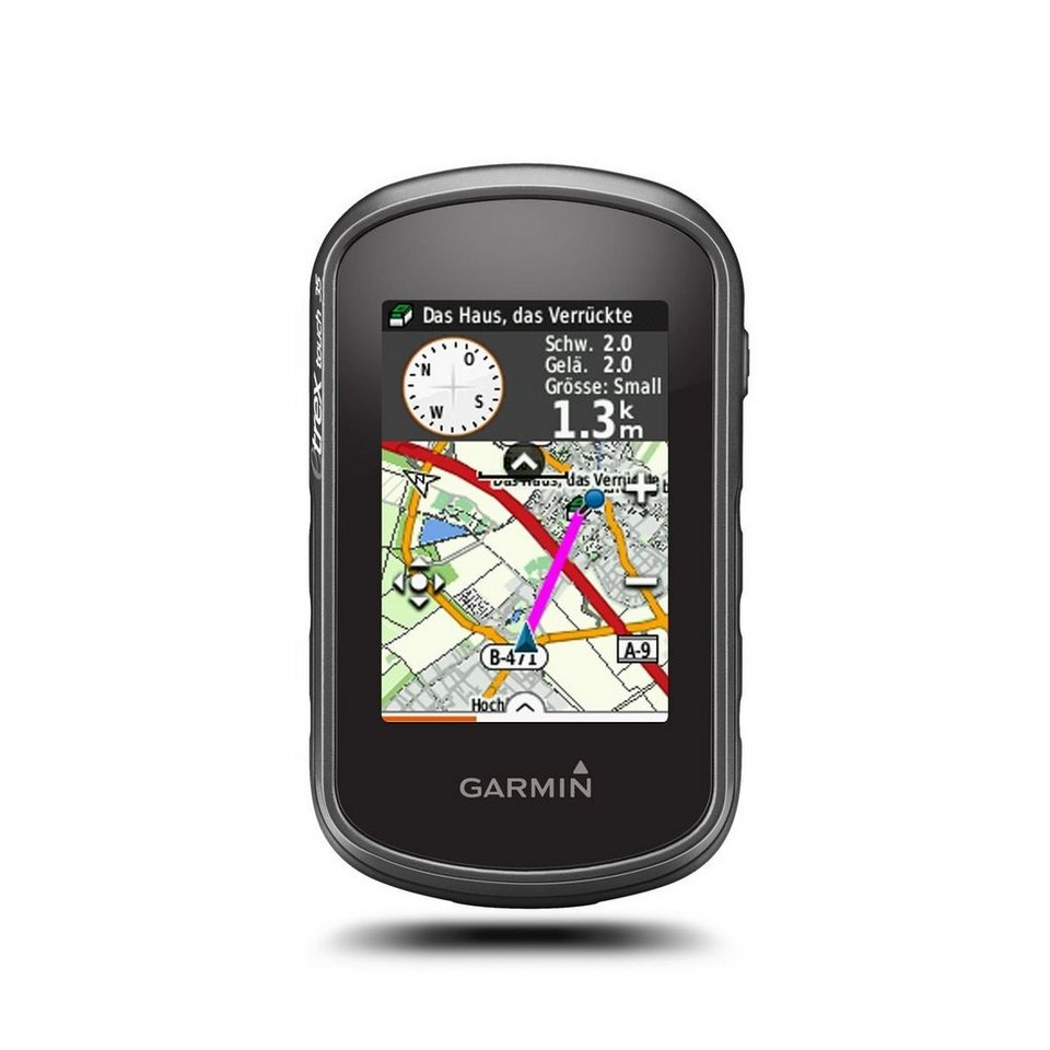 Garmin Outdoor-Navigationsgerät »eTrex Touch 35 inkl. TopoActive Europa« in Anthrazit