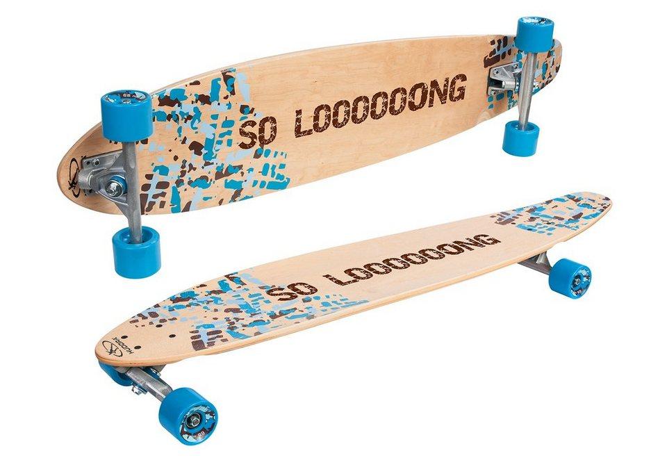 Hudora Longboard, »Imperial« in blau-beigefarben