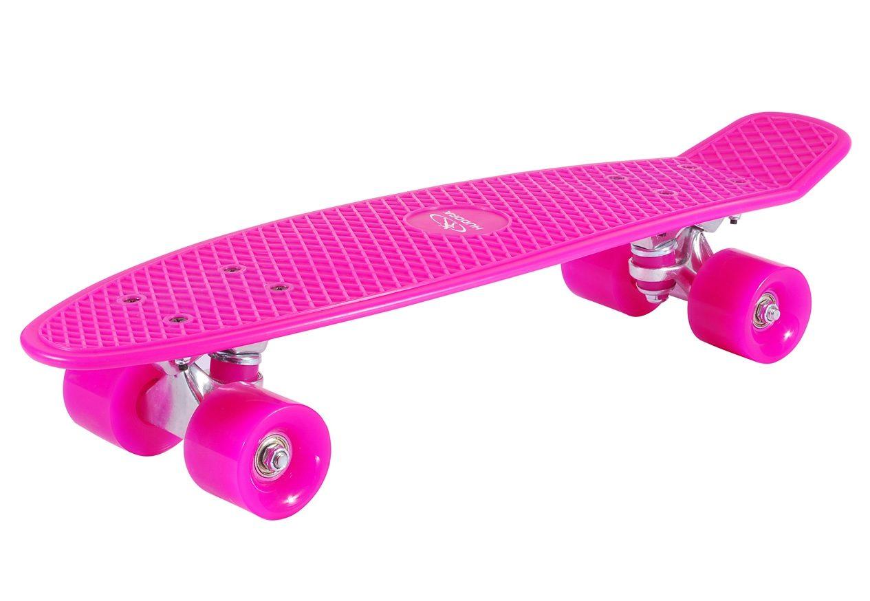 Hudora Retro Skateboard, »Retro Pink«