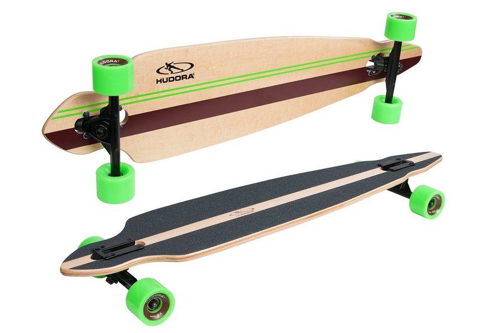 Hudora Longboard, »Rockpile« in braun-grün