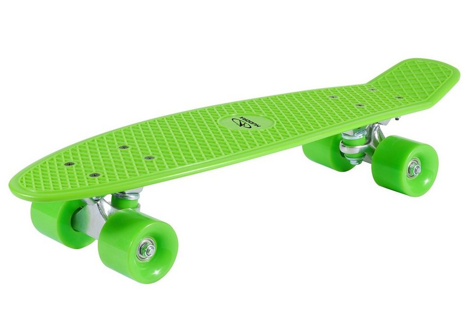 Hudora Retro Skateboard, »Lemon Green« in grün