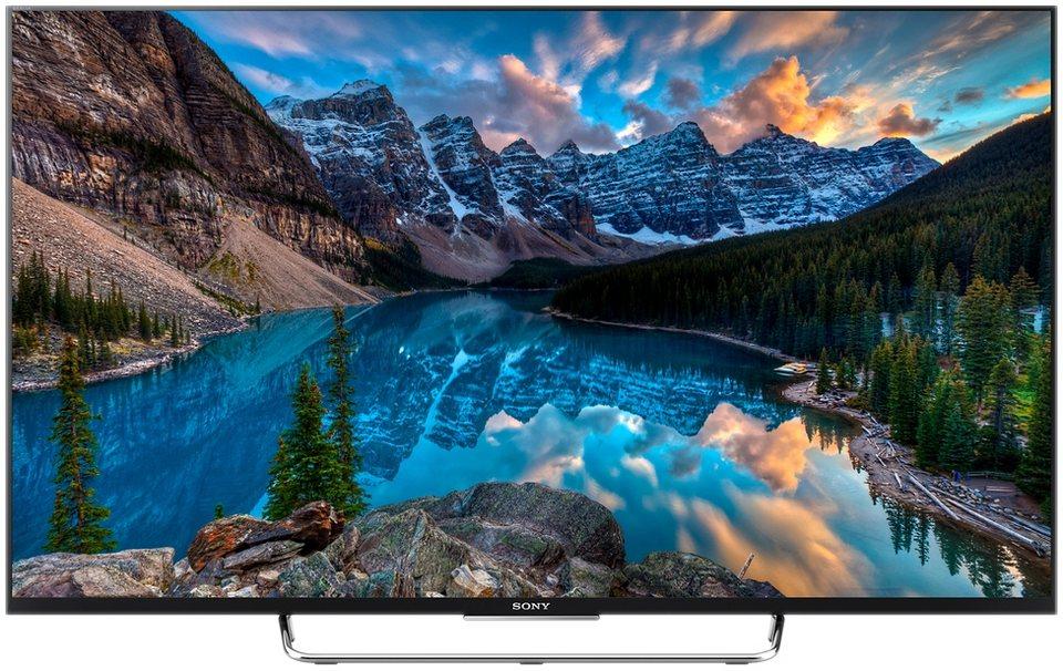 Sony BRAVIA KDL-55W805C, LED Fernseher, 139 cm (55 Zoll), 1080p (Full HD), Smart-TV in schwarz