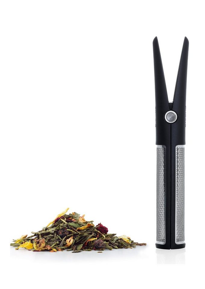 Blomus Tea-Stick , »Clippo« in schwarz/edelstahlfarben