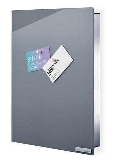 BLOMUS Schlüsselkasten (VELIO), Glasmagnettafel, Inkl 6 Magnete