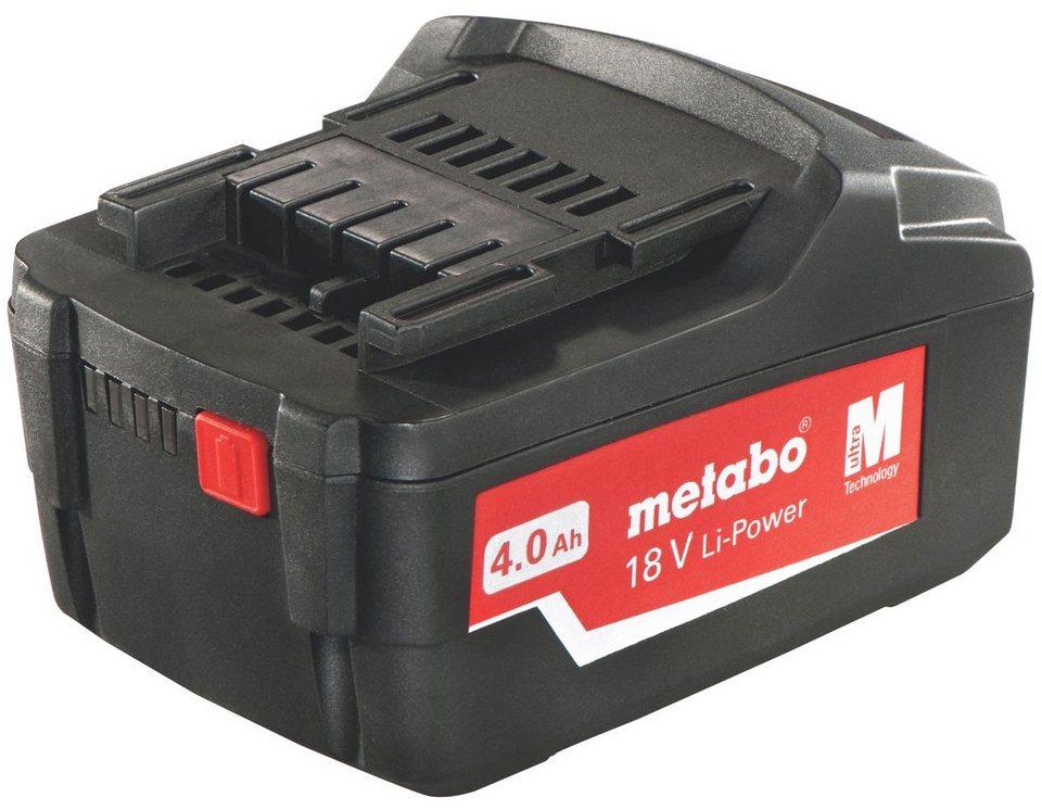 Pick + Mix Serie: Akkupack »18 V, 4,0 Ah, Li-Power« in schwarz