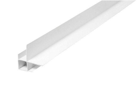 Baukulit Eckprofil, 2er-Set in weiß