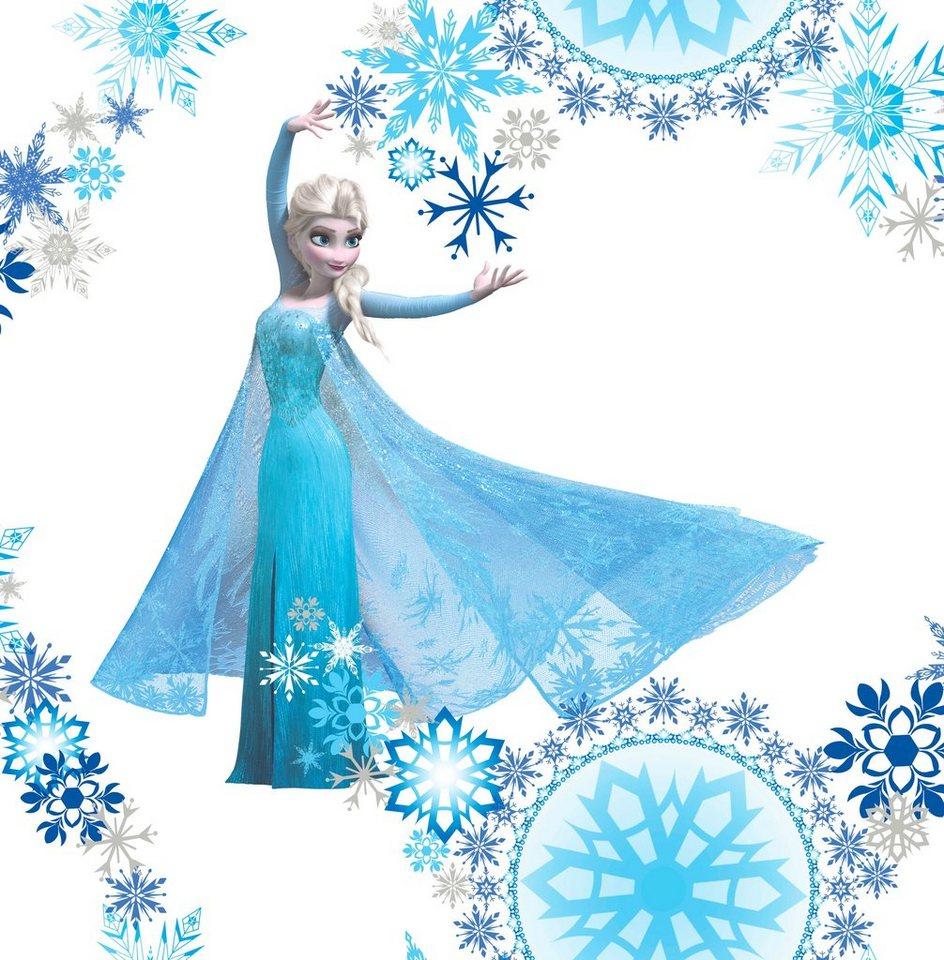 Papiertapete »Eiskönigin Elsa« in bunt