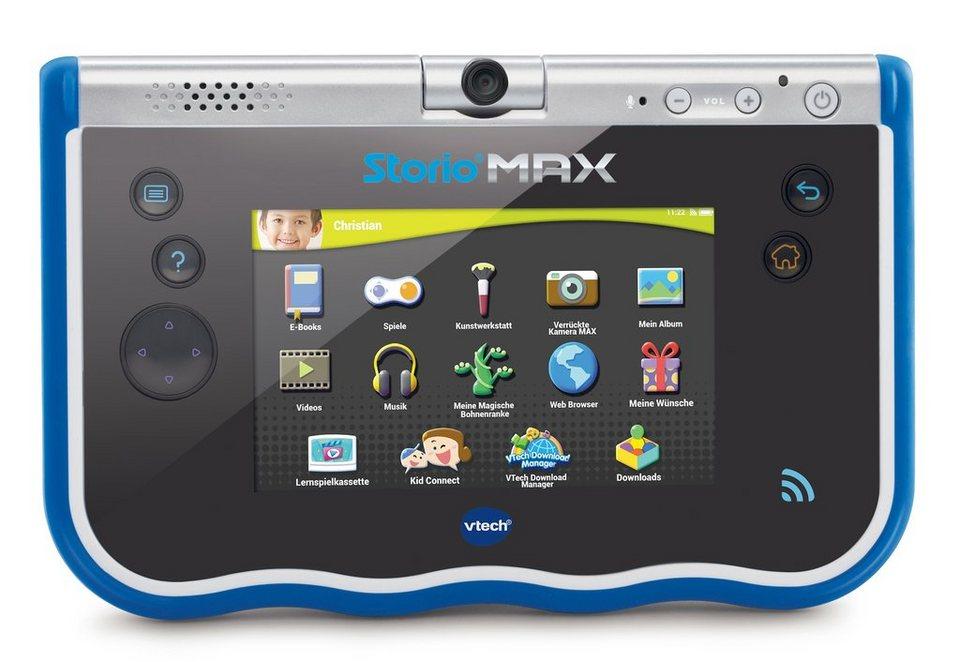 VTech Lern-Tablet, »Storio®MAX blau« in blau