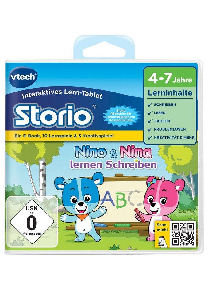 VTech Storio Lernspiel, »Nino & Nina lernen Schreiben«