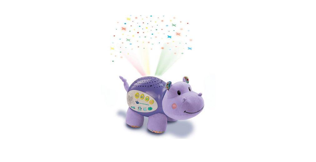 VTech Plüschtier mit Licht und Sound, »Sternenlicht Nilpferd - VTech Baby«