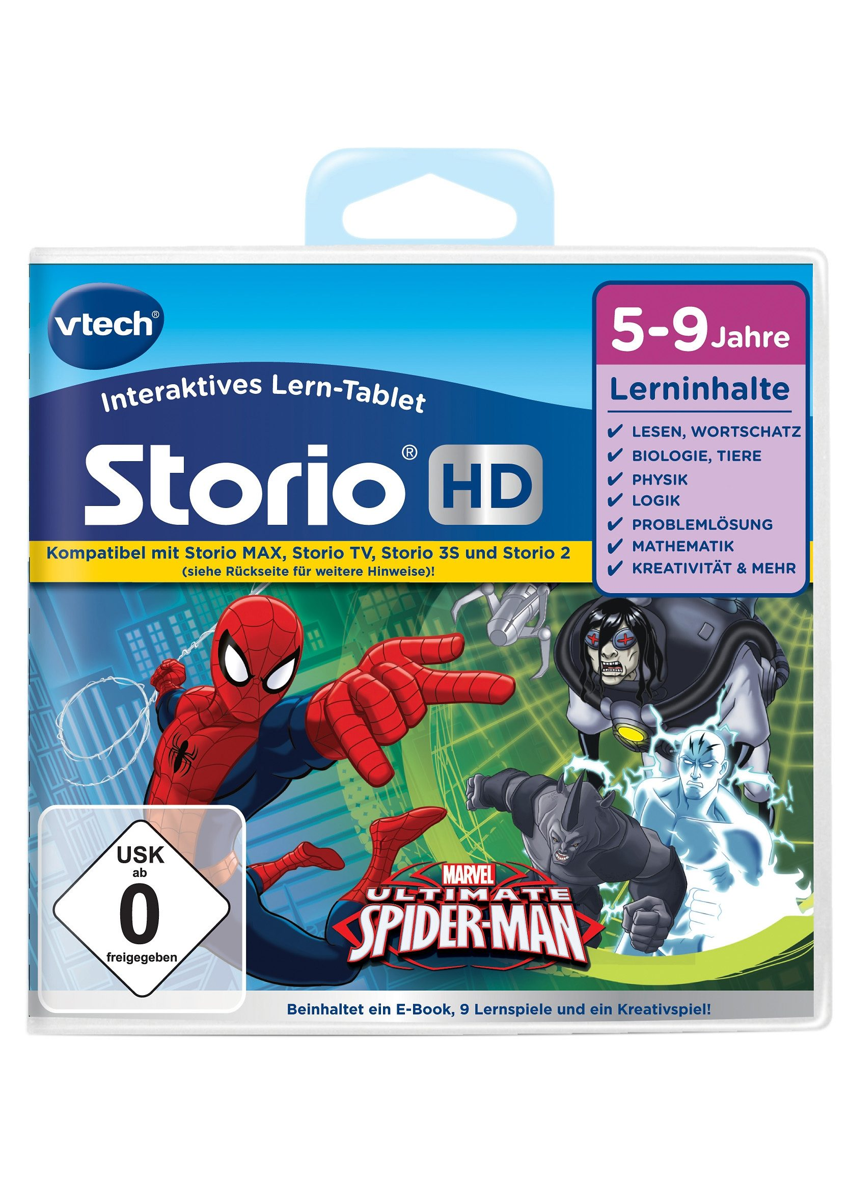 VTech Storio Lernspiel, »Der ultimative Spider-Man«