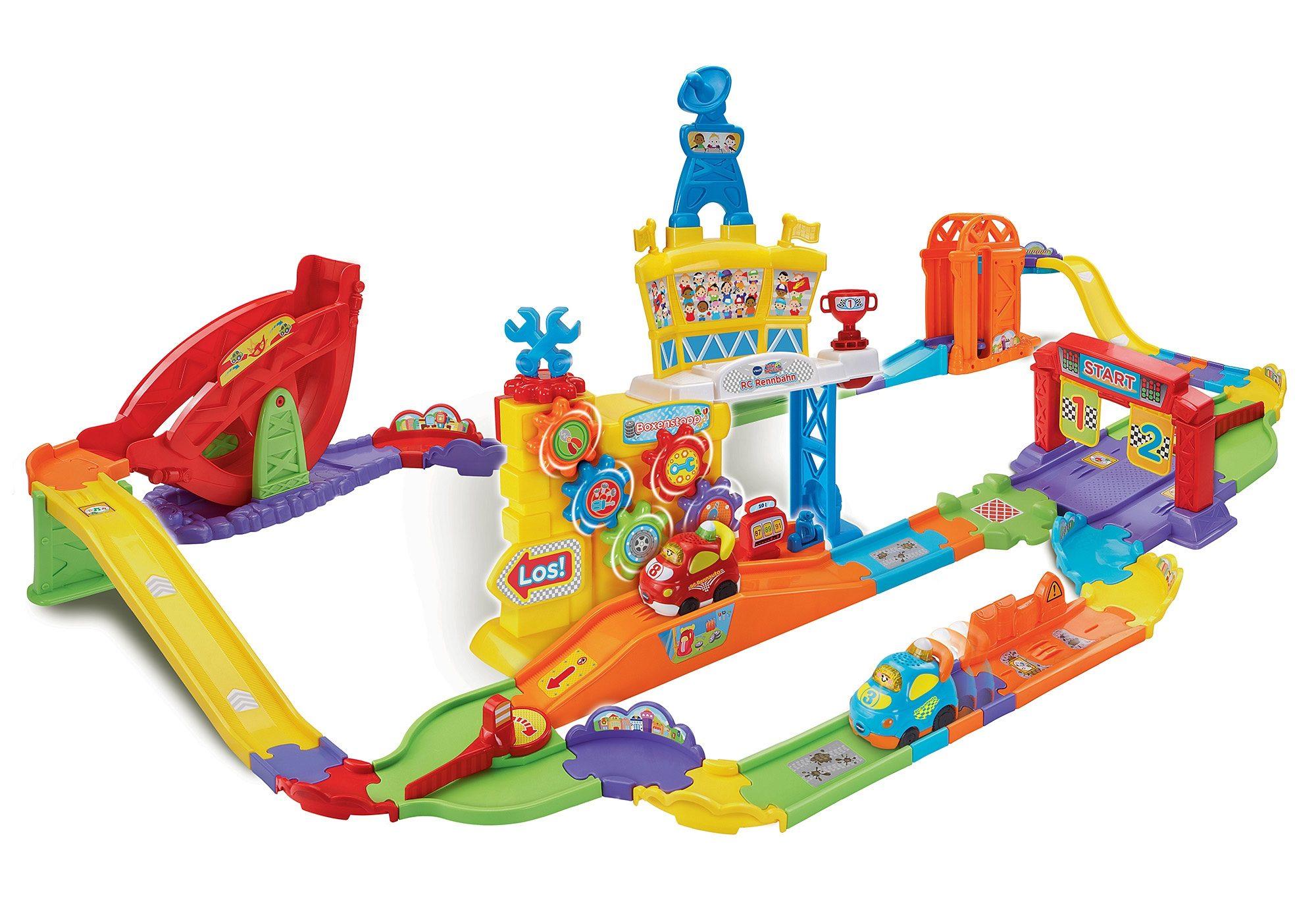 VTech RC Autorennbahn, »RC Rennbahn - Tut Tut Baby Flitzer«
