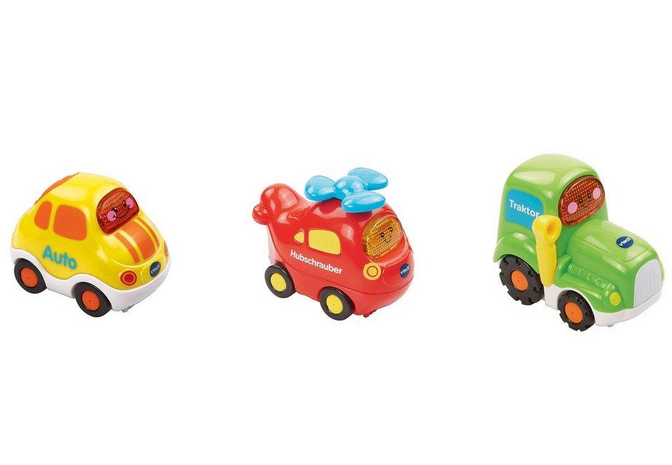 VTech Fahrzeug-Set, »Fahrzeuge - Tut Tut Baby Flitzer« (3tlg.)