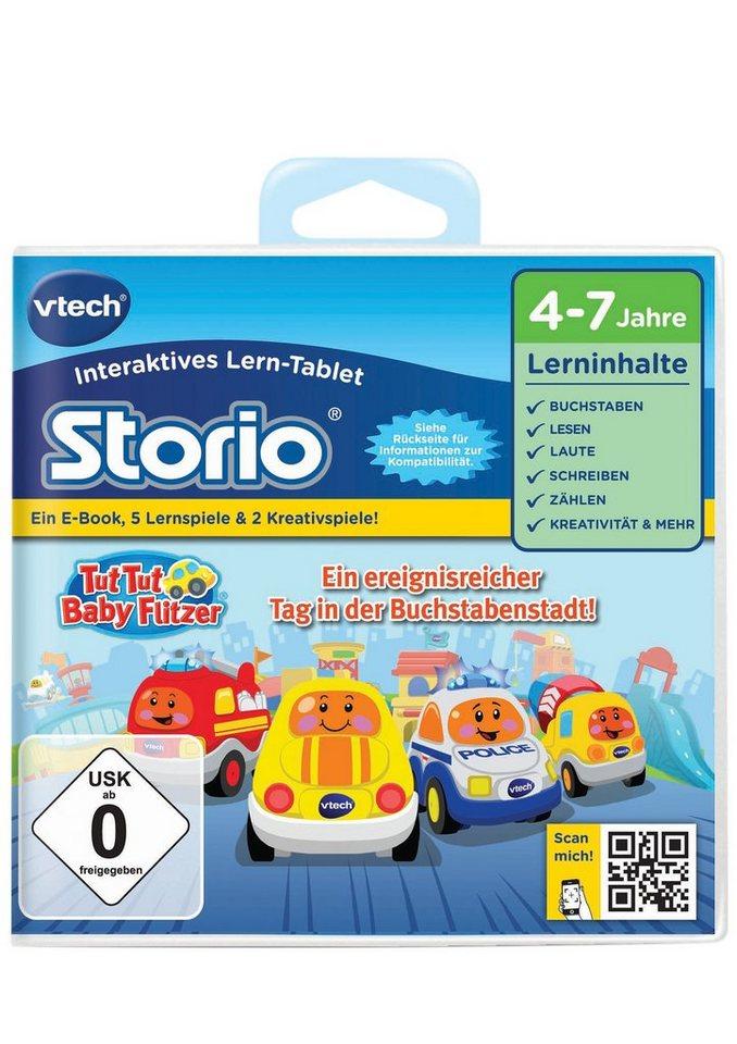 VTech Storio Lernspiel, »Tut Tut Baby Flitzer - Buchstabenstadt«