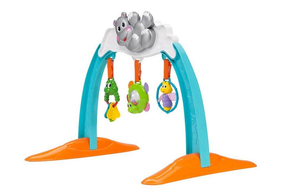 Chicco® Spielbogen mit elektronischer Rassel, »Baby Hippo Gym«