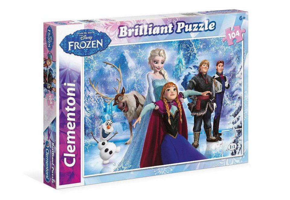 Clementoni Puzzle, »Disney Frozen - Brilliant«