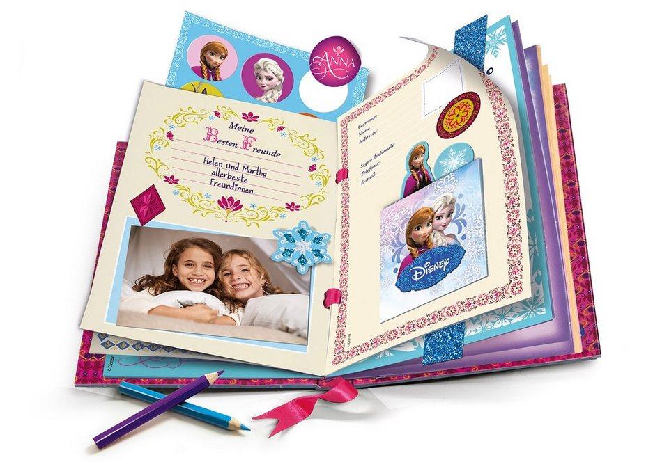 Clementoni Kreativ-Set, »Disney Frozen - Magisches Tagebuch«