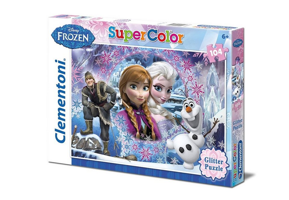Clementoni Puzzle 104 Teile »Disney Frozen - Queen of the North Mountain«