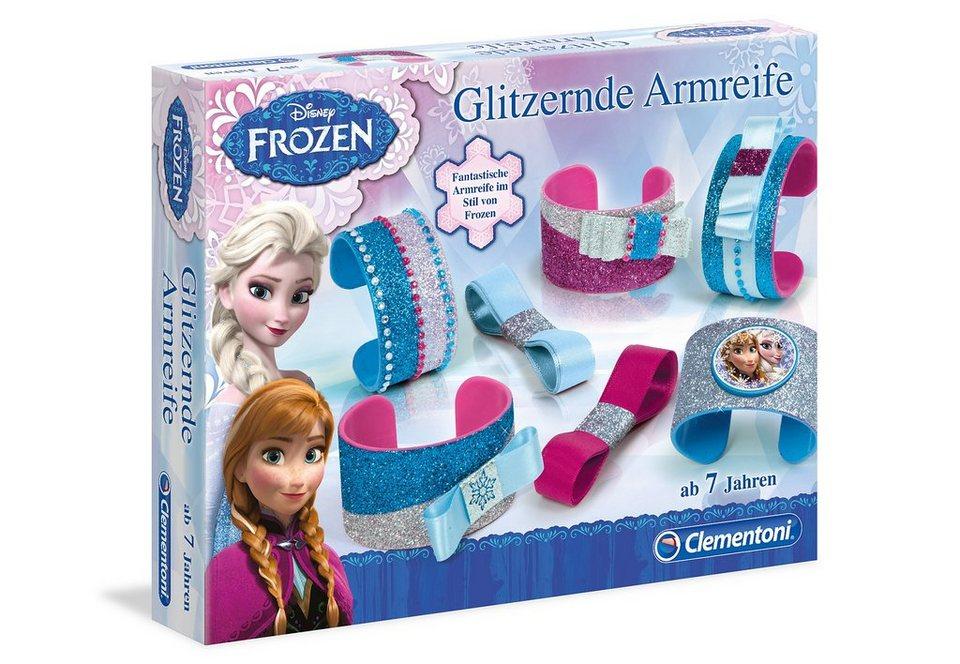 Clementoni Kreativ-Set, »Disney Frozen - Glitzernde Armreife«