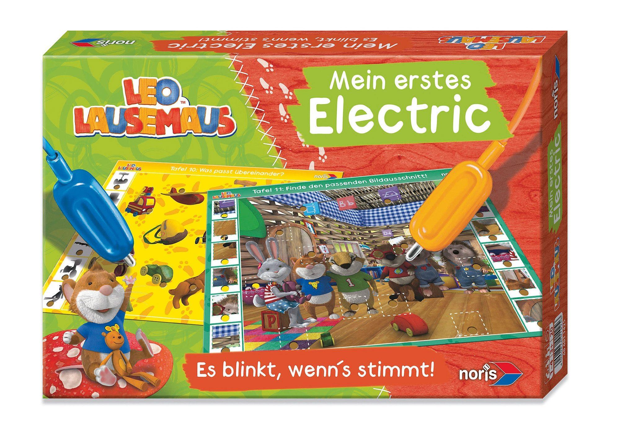 Noris, Lernspiel, »Leo Lausemaus - Mein erstes Electric«