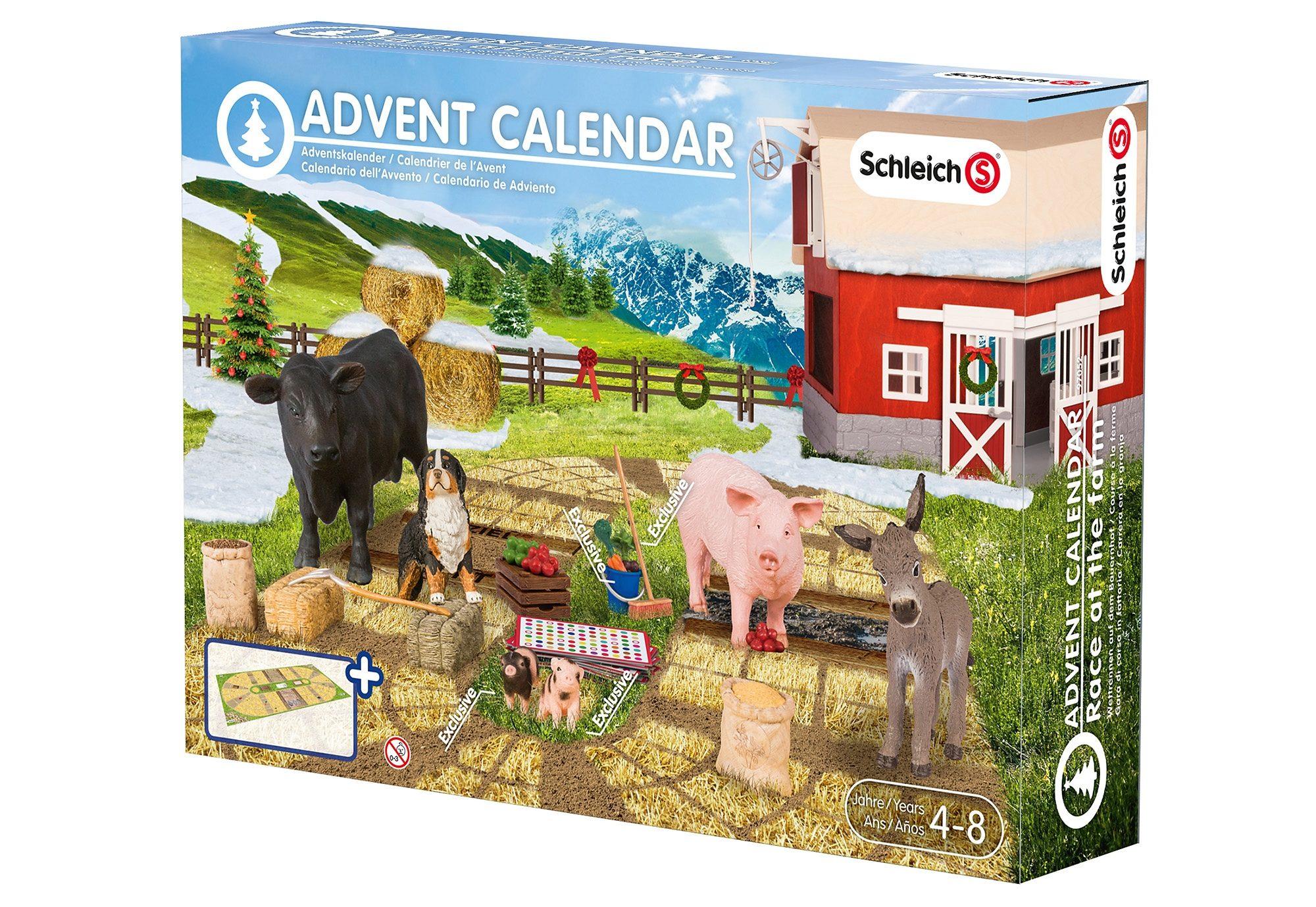 Schleich® Adventskalender (97052), »Adventskalender Bauernhof 2015«